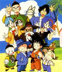 Goku eta bera lagunak.
