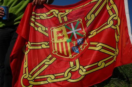 Nafar Estatuaren bandera eredu bat. Argazkia: Palazioberri