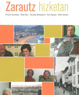 Zarautz hizketan liburuaren azala