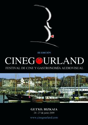 III. CineGourland Festibalaren afixa. CC-by CineGourland