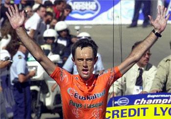 Roberto Laiseka, Tourmaleten garaile, 2001 urtean.