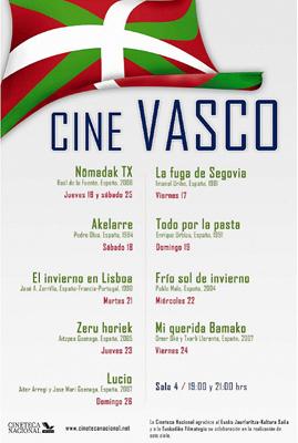 Cine Vasco zinemaldiaren afixa.