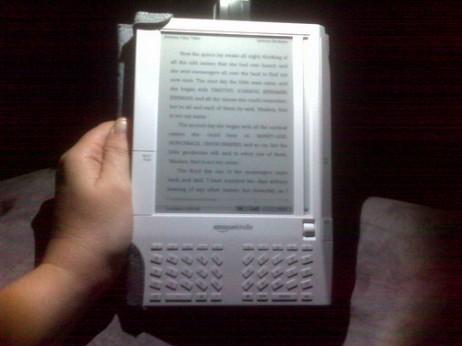Kindle Amazonen gailua - AGeekMom cc