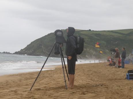 Hedabide, kazetari eta argazkilari ugari hurbildu zen 16 urte azpiko Europako Surf Txapelketara - Zuzeuphoto