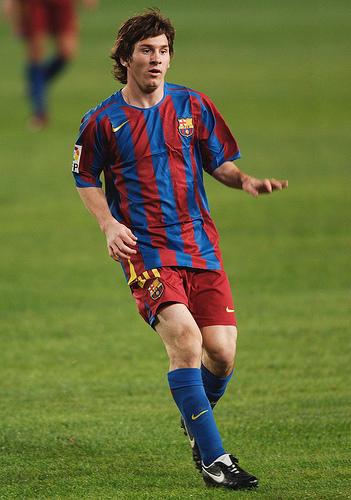 Messi, bi golen egile - Thundershead cc