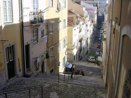Alfama, Lisboa. CC-by: Allie-caulfield
