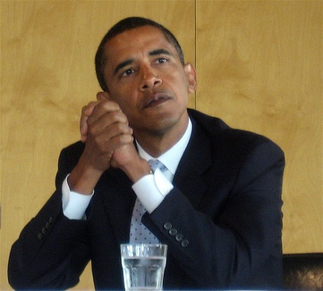Barack Obama, by Jurvetson, Flickr