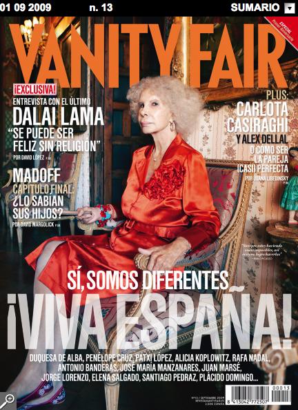 Vanity Fair, azaletik mamia