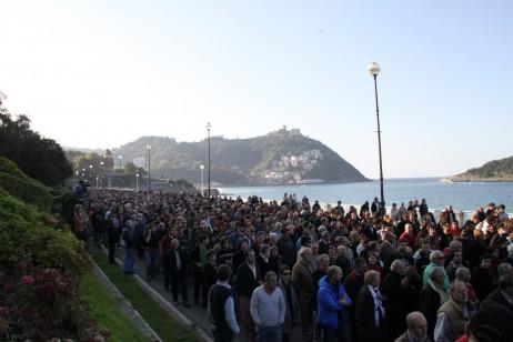 Manifestazioa kostatik - Oier Aranzabal cc