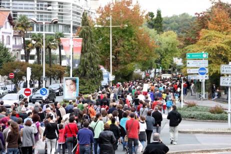 Manifestazioa Baionan zehar - Oier Aranzabal cc