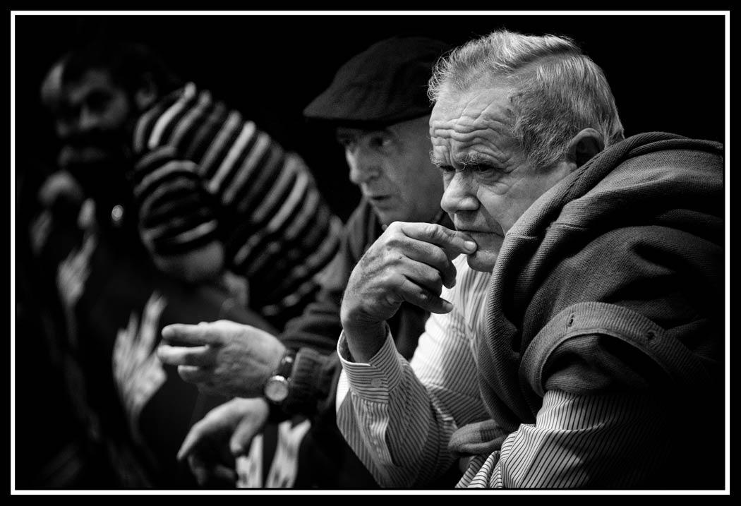 Eguna bukatzeko, Nafarroako aizkolari txapelketa nagusiaz disfrutatzeko parada izan du jendeak.