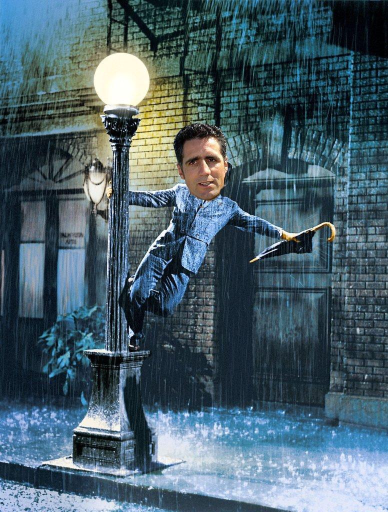 Singing in du rain