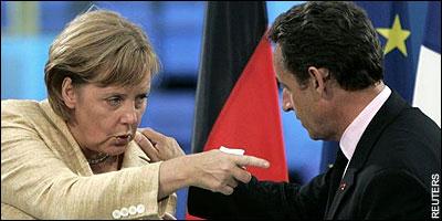 Merkel eta Sarkozy