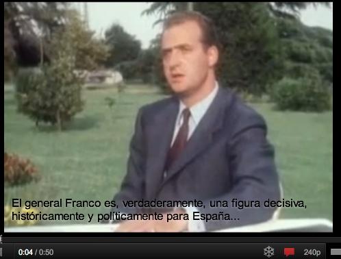 Juan Carlos frankista