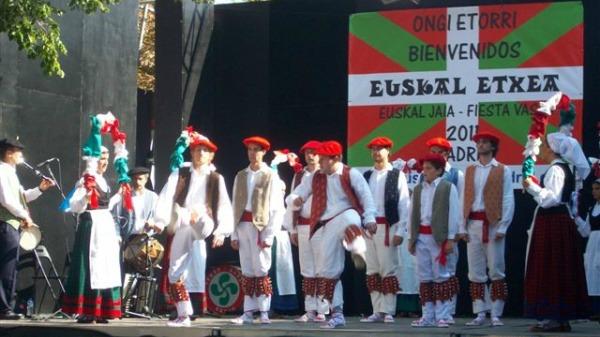 Madrilgo Euskal Etxean egindako Euskal Jaiak