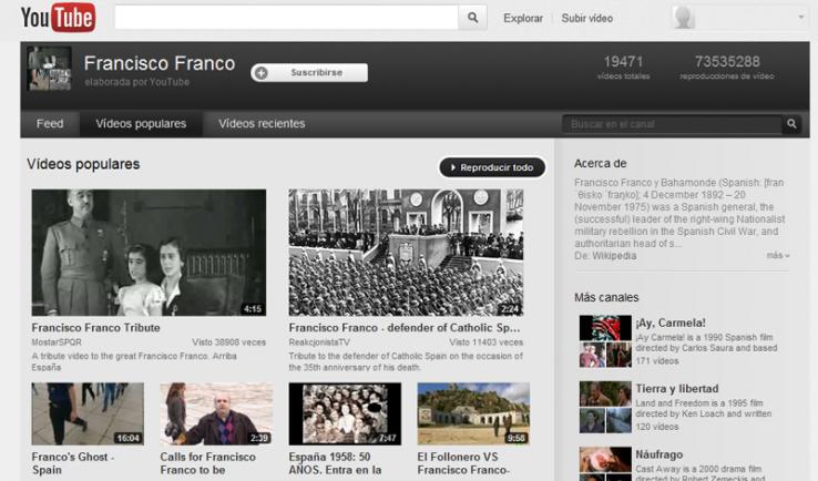 Francoren YouTubeko kanala