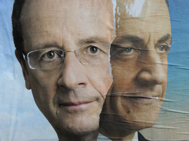 Hollande eta Sarkozy