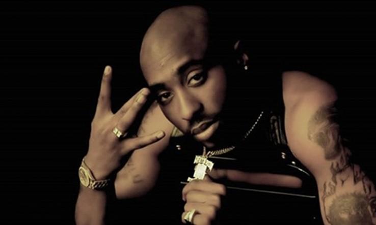 Tupac Shakur raperoa