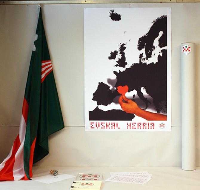 Greziar batek diseinatu du Euskal Herriaren independentzia