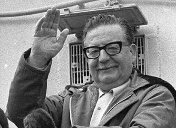 Salvador Allende gogoan