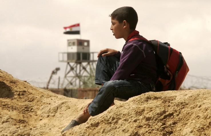 Gaza eta egiptoko muga