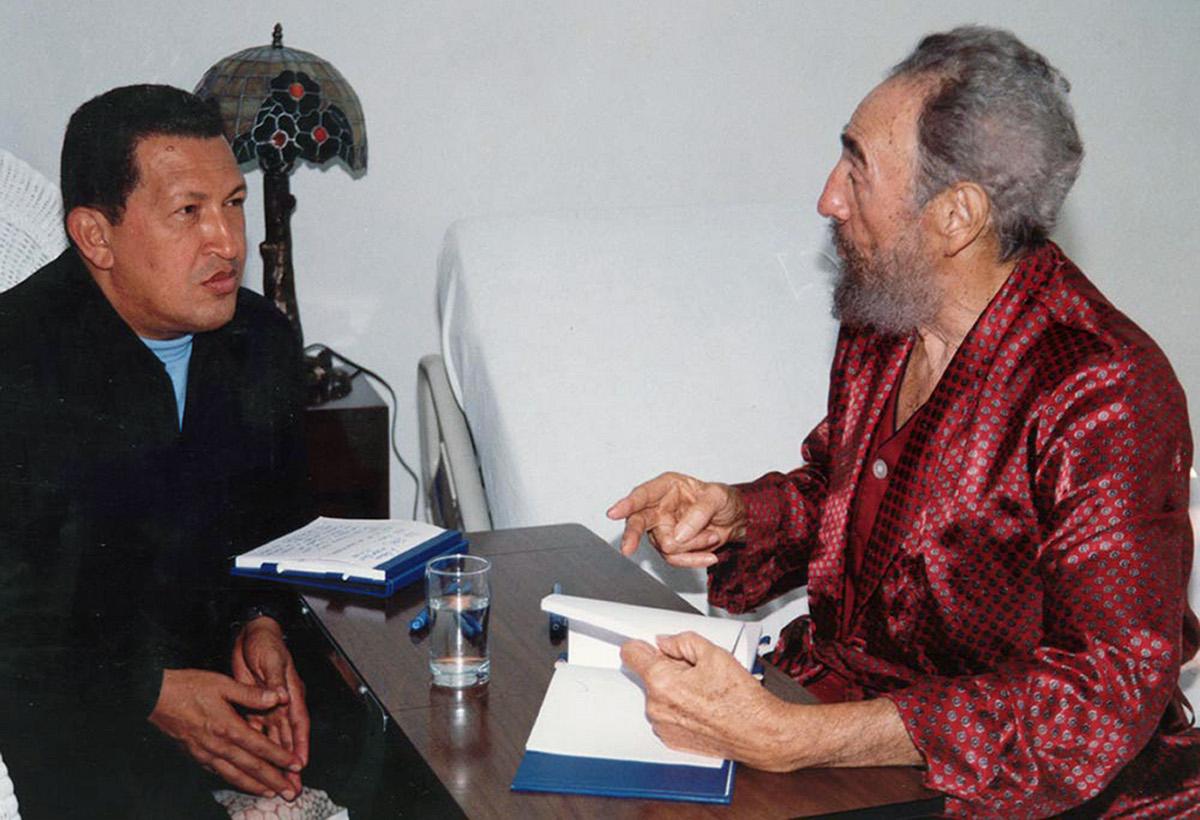 Chavez ala Castro, nor joango da lehenago?