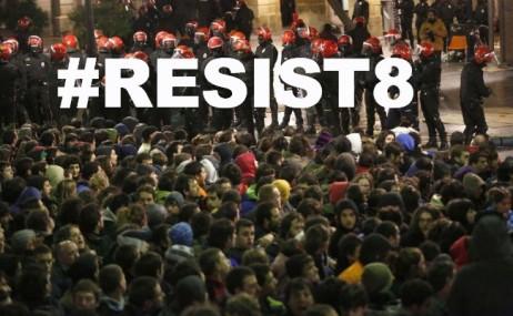 #resist8 askegunean