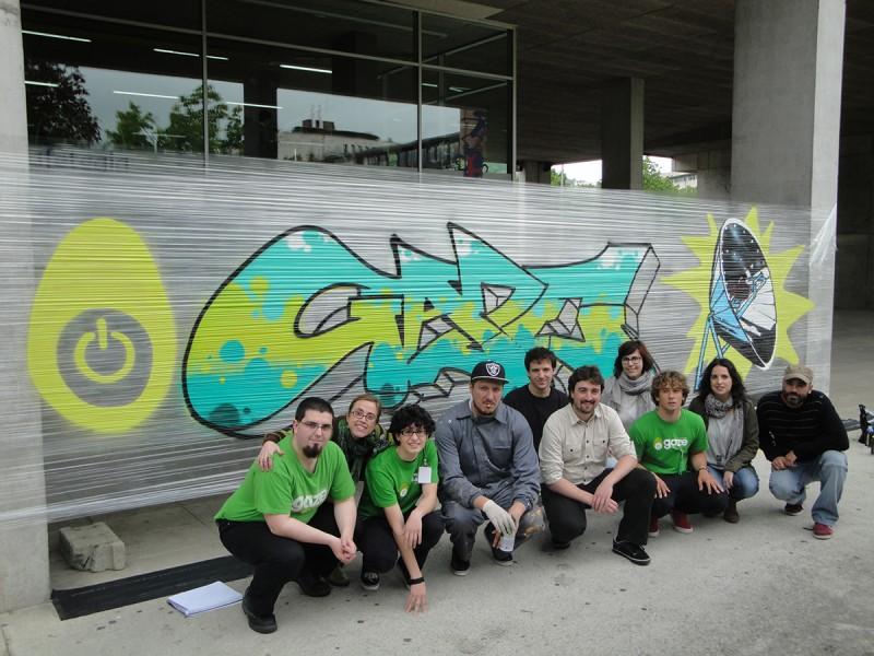 graffitia eta taldea