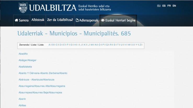 udalbiltza-udalerriak
