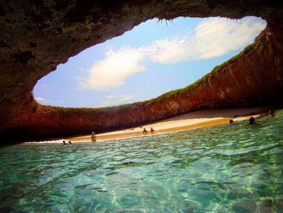 Hidden Beach on marieta islands, Mexiko 2