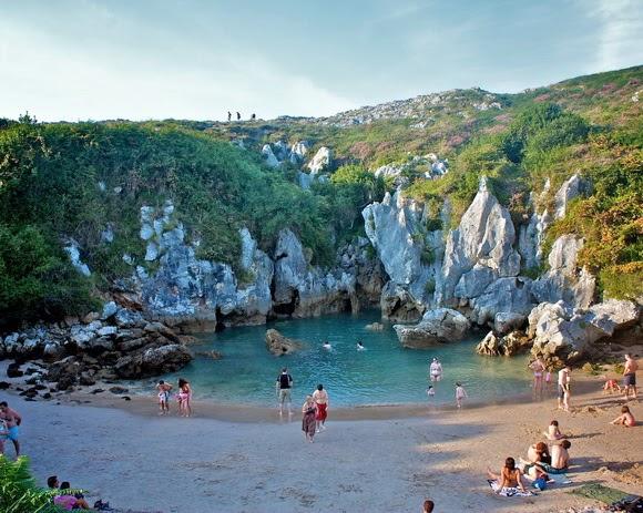 Playa de Gulpiyuri, Spain 2