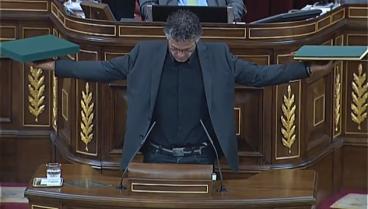 Errekondo zigortu dute Espainiako Kongresuan