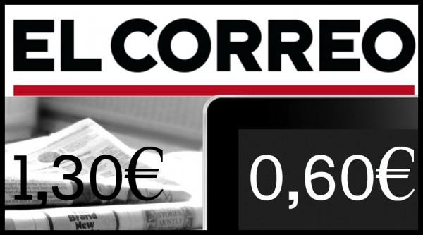 Vocento taldeko egunkariak 1,30 eurotan saltzen dira astean zehar. KioskoYMas bitartez, ale digitala 0,60 eurotan dago, urteko harpidetzarekin.