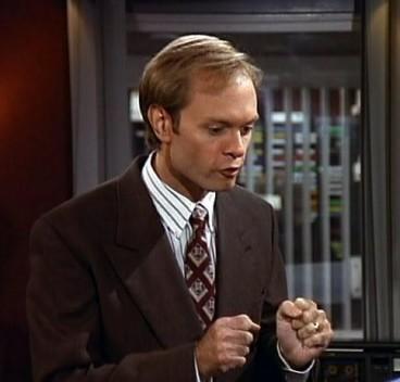 Niles Crane maite dut (baina ez dut horregatik Frasier gorroto)