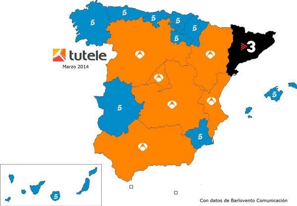 Hego Euskal Herrian Telecinco nagusi (eta beste hainbat kontu)