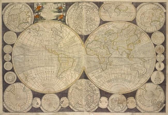 New Yorkeko Liburutegi publikoak 20000 mapa jarri ditu saretik jaisteko