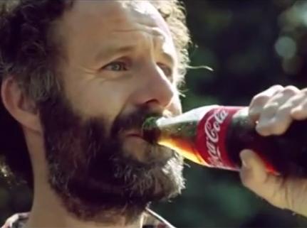 Lasai edan Cocacola