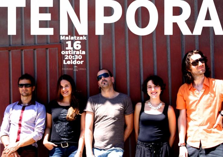 TENPORA taldearen CD berriaren aurkezpen kontzertua