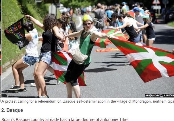 Europako indepentzia prozesuak, Eskoziara begira.