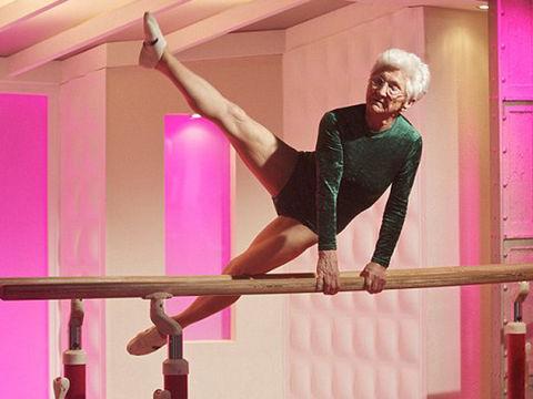 Johanna Quass, 88 urteko atleta