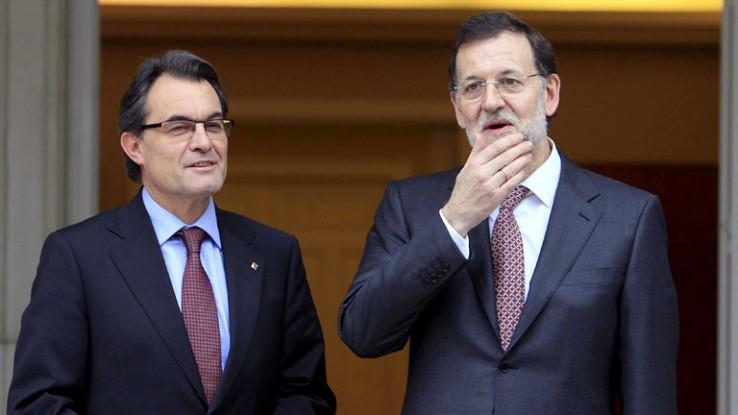Mas eta Rajoyren arteko telefono elkarrizketa