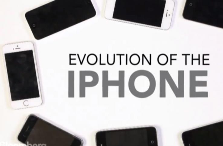 Iphone-aren eboluzioa bideo batean