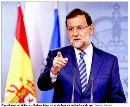 Kataluniar erreferendumaren debekuaren osteko azalak