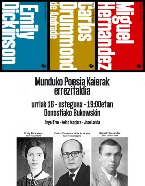 Munduko Poesia Kaierak Donostiako Bukowskin