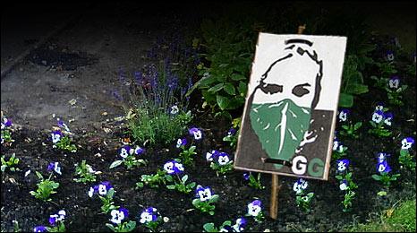 Guerrila gardening: lurra borroka esparru gisa