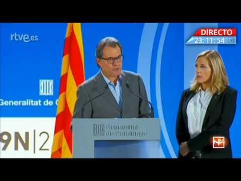 Artur Mas-en agerpena, 9N gaueko 11:00tan zuzenean...