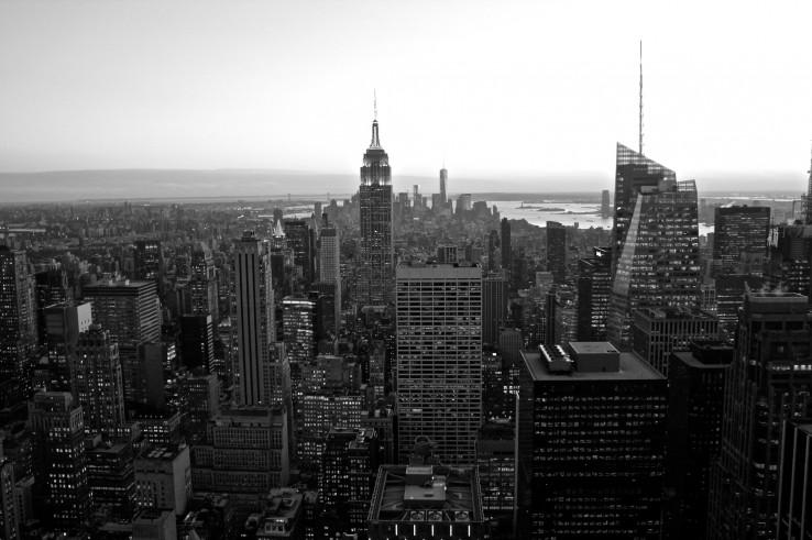 New Yorken larruazalak (argazki bilduma bat)