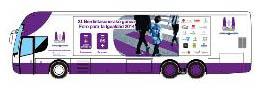 Mahai-ingurua Bilboko Casilda Iturrizar parkean egongo den autobus ibiltarian izango da.