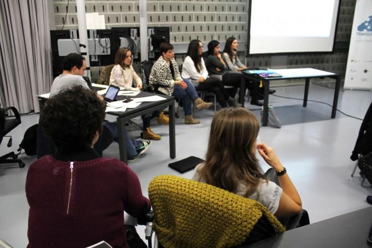 Fernando Sáenz de Ugarteren bisita Transcreativaren Sormen Poloetara