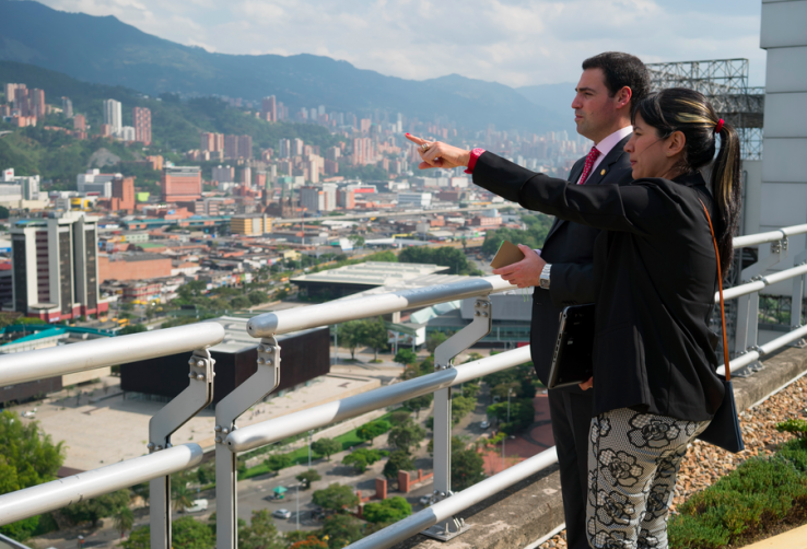 Medellíneraino iritsi da Bilboko eraldaketa prozesua